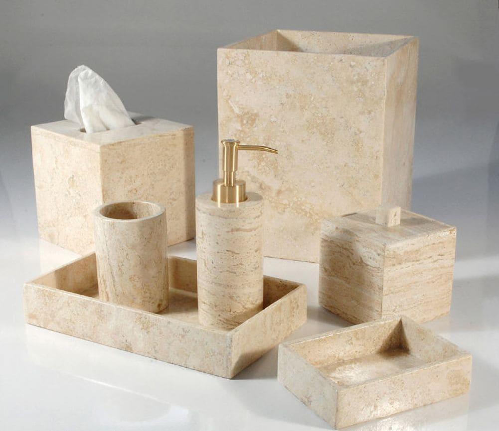 Набор для ванной из мрамора, Изделие №а06