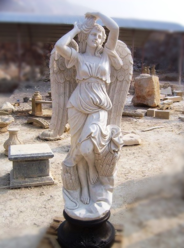 Мраморная статуя - Изделия из мрамора, фото №м01