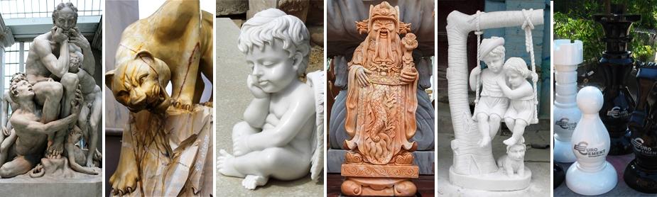 Парковые скульптуры из мрамора, фото №м04
