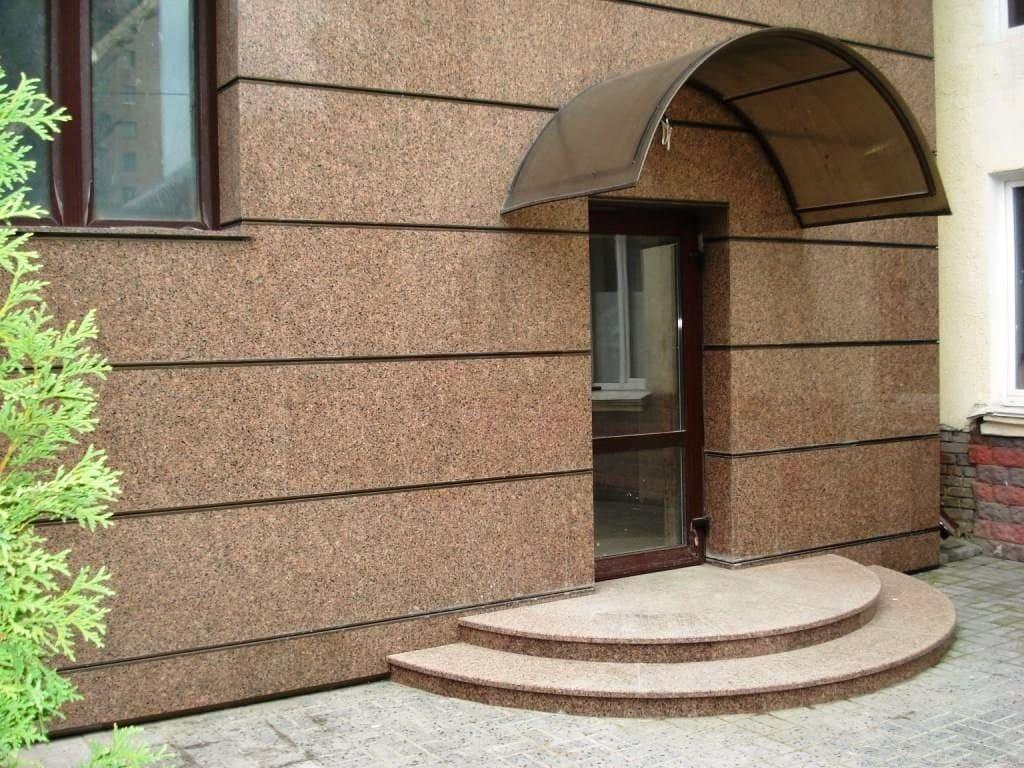 Фасадная плитка из гранита Межеричка