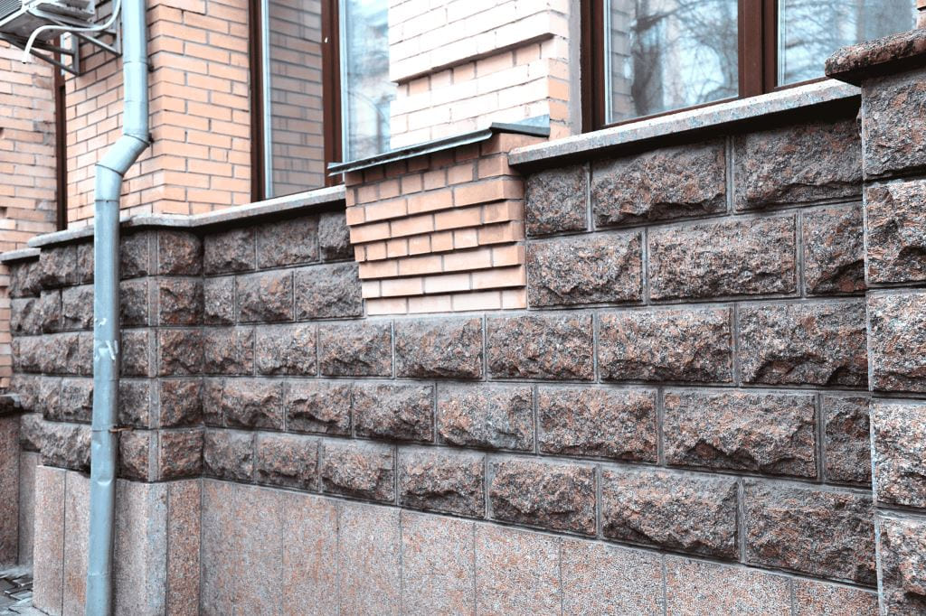 Облицовка фасада Плитка Скала (фото 003)