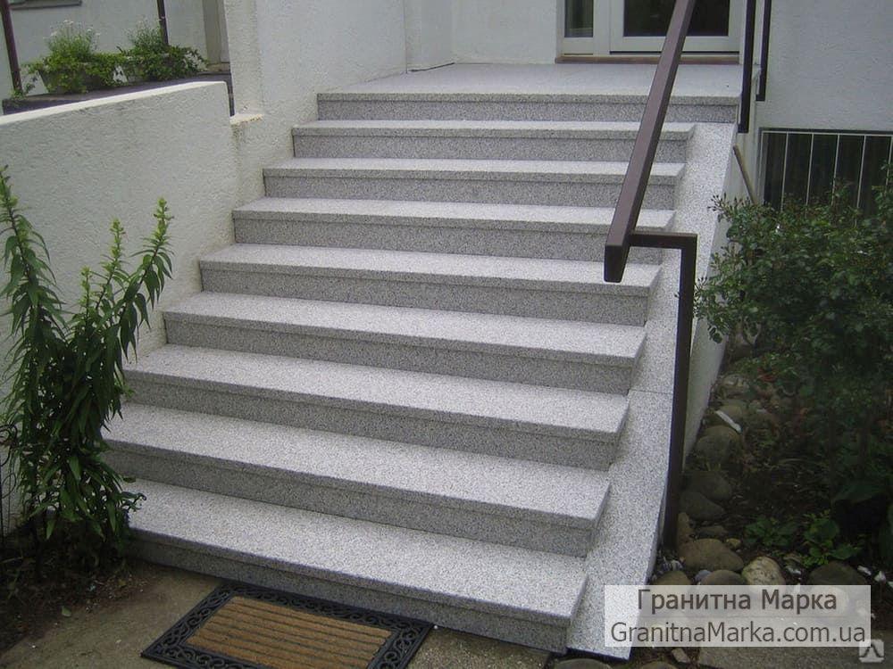 Гранитные ступени для крыльца, фото №17