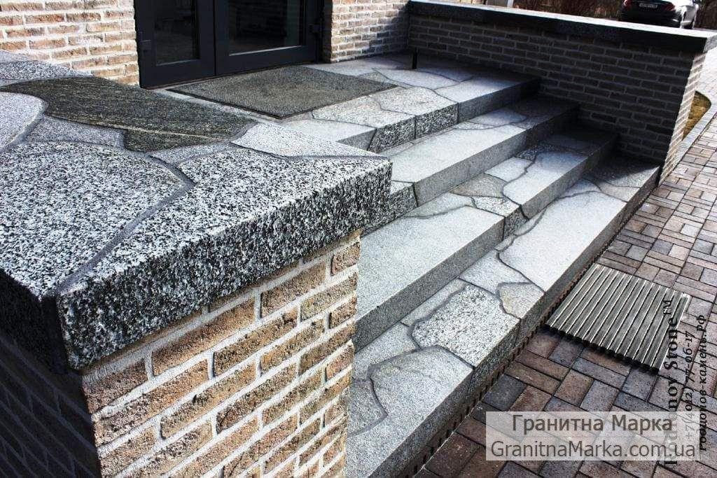 Гранитные ступени - мозаика, фото №18