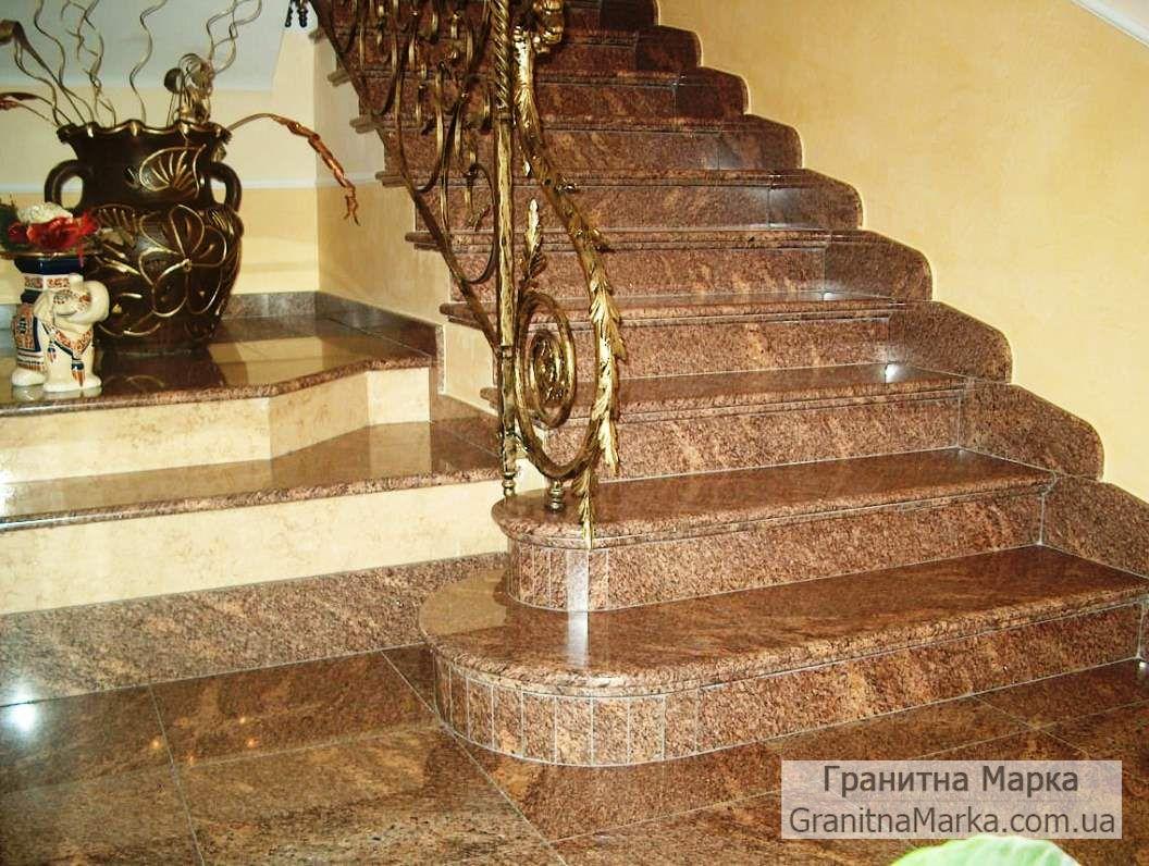 Лестница из гранита, фото №19