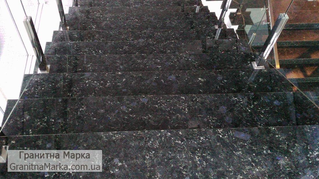 Лестница из лабрадорита, Фото №04