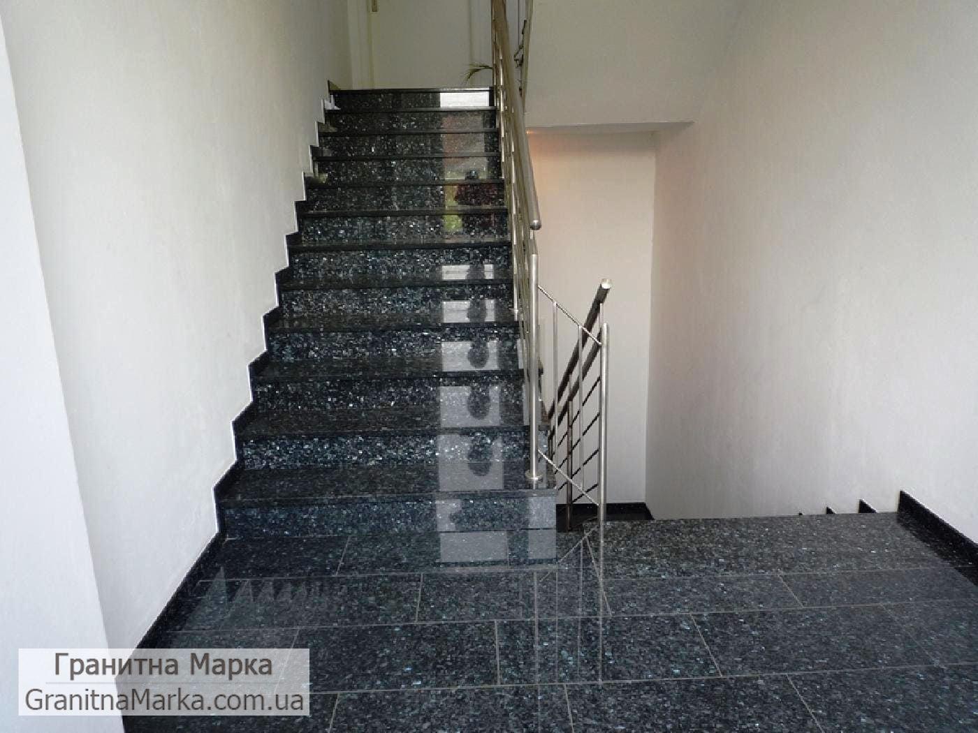 Лестница из лабрадорита, Фото №05