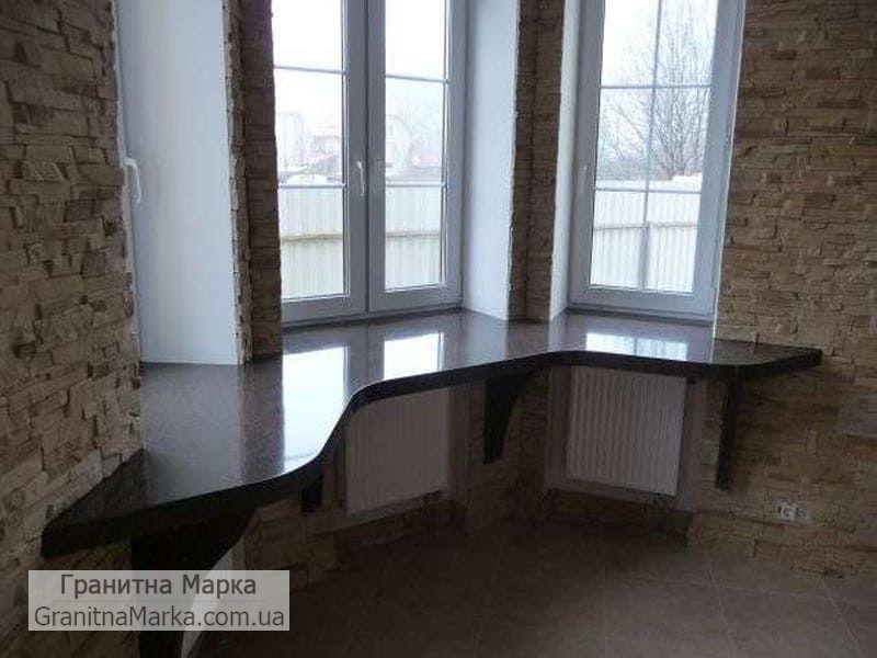 Каменный подоконники стол, фото №08