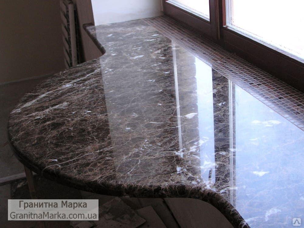Стол-Подоконник из мрамора, фото №24