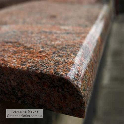 Подоконники из красного гранита, фото №83