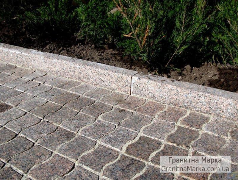 Поребрик гранитный садовый ГП-5, фото №13