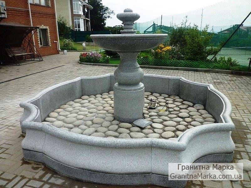Гранитный фонтан фигурной формы, фото №112