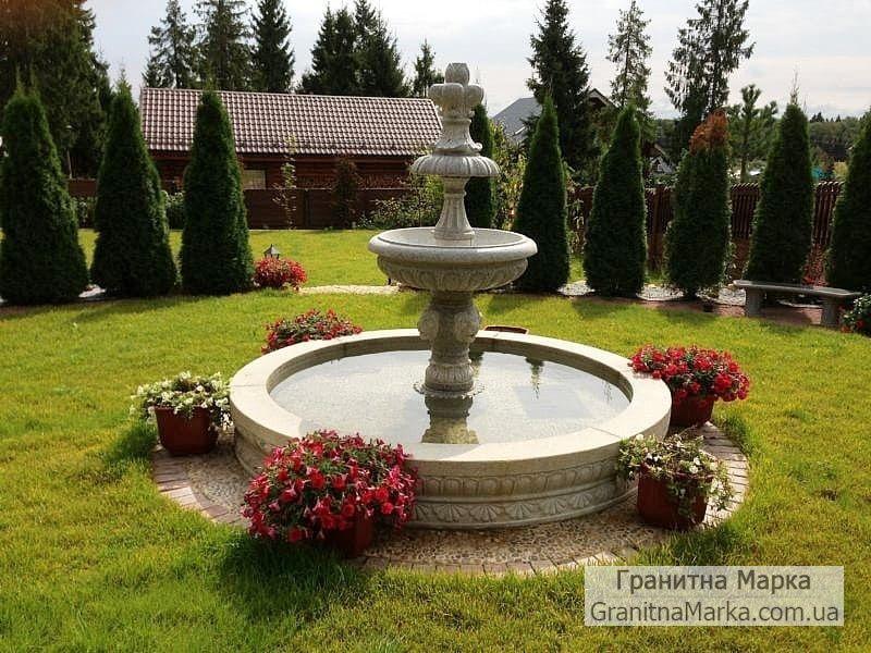 Гранитный фонтан в греческом стиле, фото №114