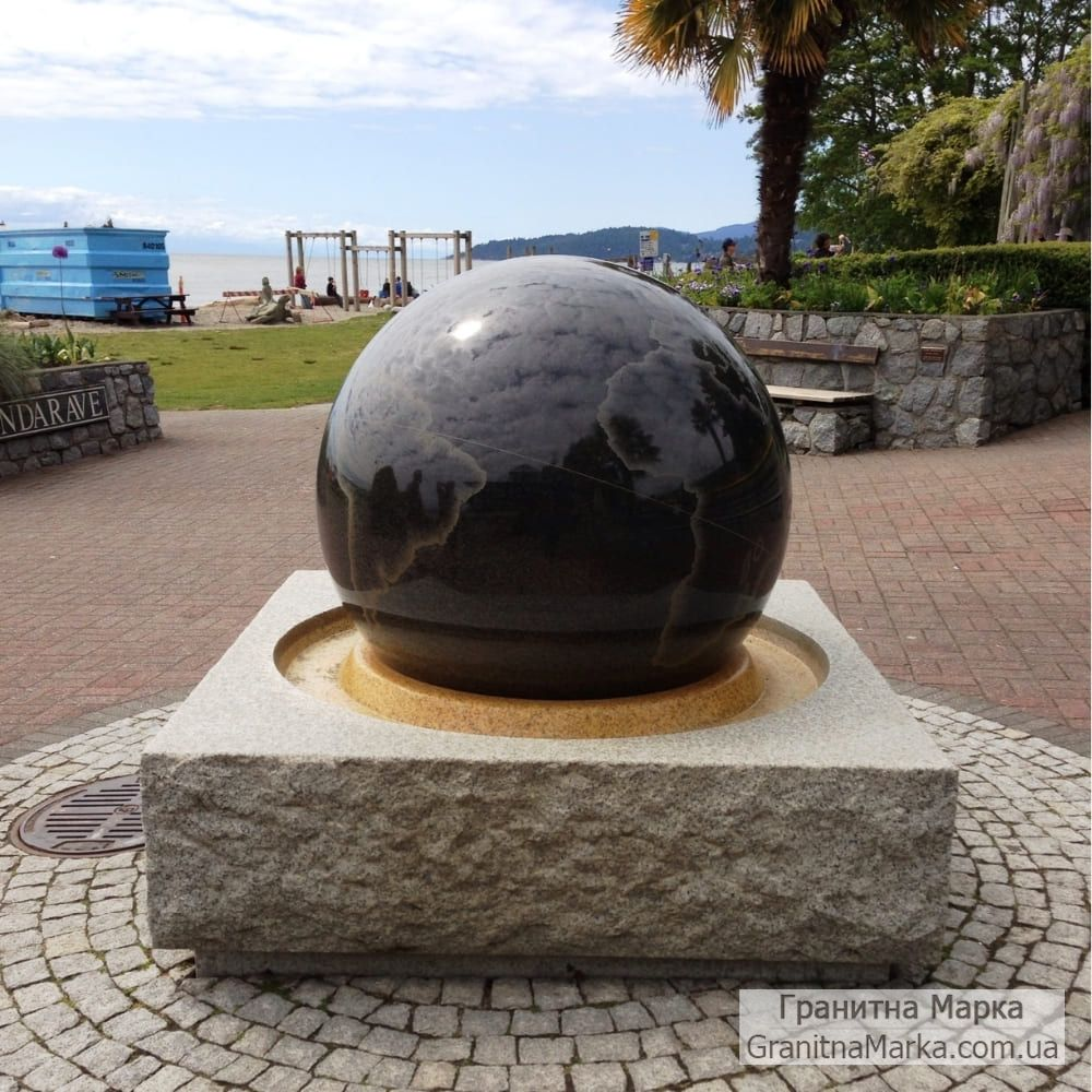 Гранитный Фонтан - Плавающий шар, №308