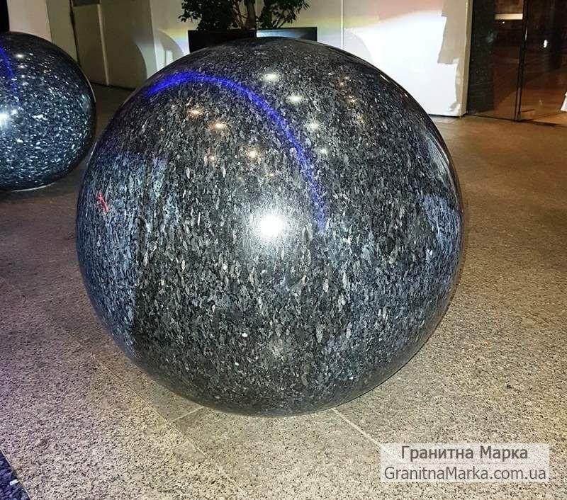 Декоративный шар-сфера из лабрадорита, фото №16