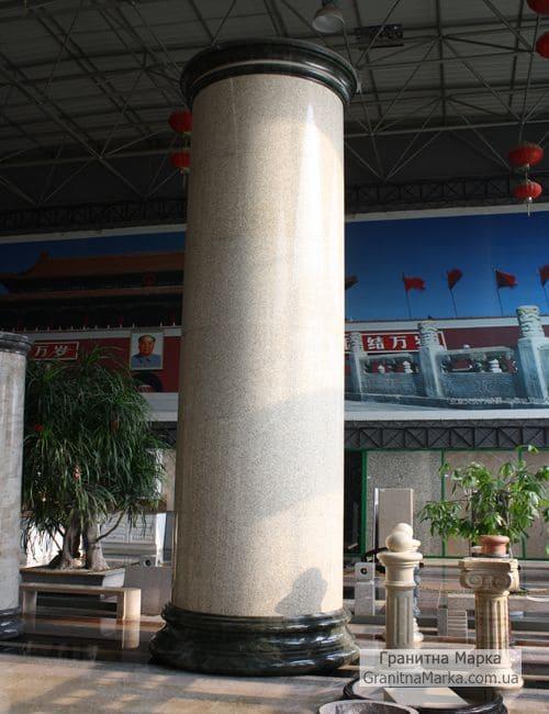 Фальш-колонна из гранита, фото №G-19