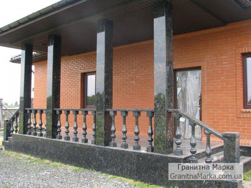 Облицовка колонн лабрадоритом, фото №G-20